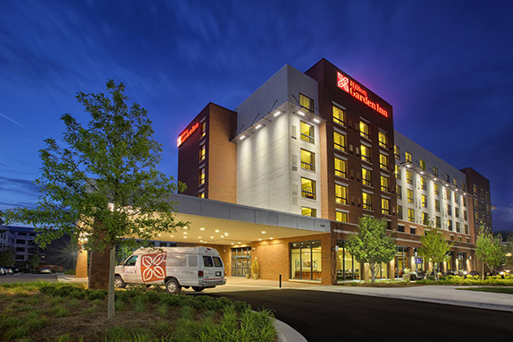 Exterior photo of Hilton Garden Inn Durham-University Medical Center