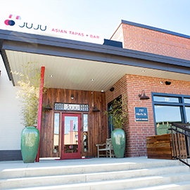 Photograph of JuJu Durham storefront